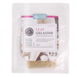 Squires Gelatine Leaf Approx 10pcs 25g