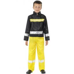Fireman Costume with Trousers Jacket