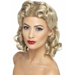 Sweetheart Wig Blonde with Curls