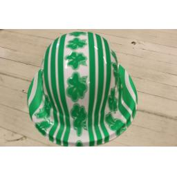 St Patricks Irish Platic Bowler Hat