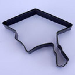 Graduation Metal Cookie Cutter
