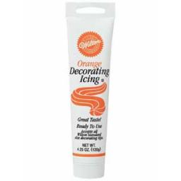 Wilton Ready To Use Orange Decorating Icing 120g