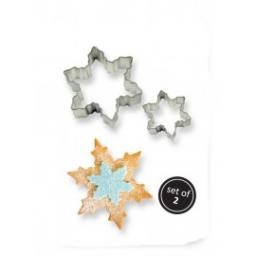Snow Flake 2 Metal Cutters Set