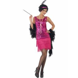 1920s Fun Time Flapper Small Dress