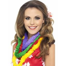 HAWAIIAN PARTY LEIS 4 ASSORTED PER CARD