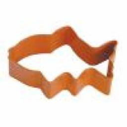Cookie Cutter Fish Orange 3inch
