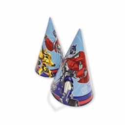 Trans Formers Party Hat 8pcs