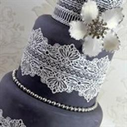 Cake Lace Mat Serenity 3D 395 x 298 mm