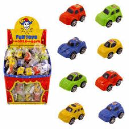 Pull Back Small Plastic Car 5cm 4 assorted design 4 For £1 Party Bag Filler