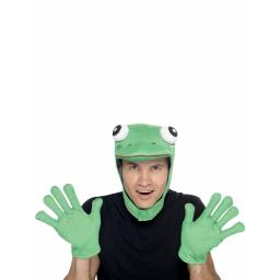 Frog Kit Hood & Gloves