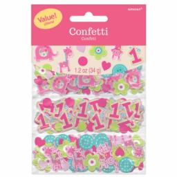 One Wild Girl 3 Pack Confetti Value