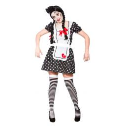 Broken Doll Costume Small Size