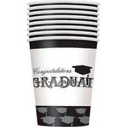 Simply Grad Paper Cups 8 x 270ml