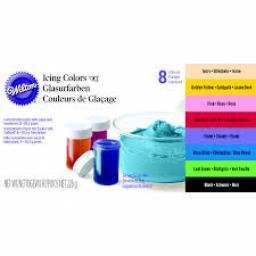 Wilton Icing Colour Set of 8