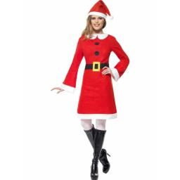 Fleece Miss Santa Dress