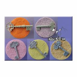 Alphabet Moulds - Set of 5 Keys