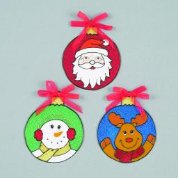15cm Bauble Window Cling