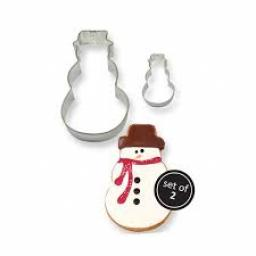 PME Metal Snowman Cutters Set