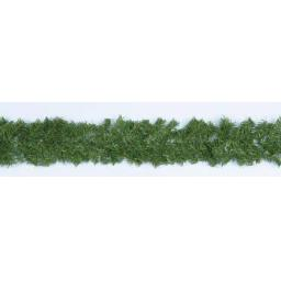 2.7M x 20cm Canadian Pine Garland Green