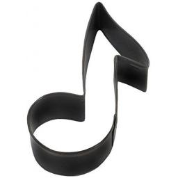 Cookie Cutter Music Note Black Colour 3.5inch