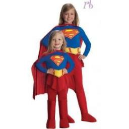 SuperGirl Jumpsuit with Skirt Boot tops Cape Belt