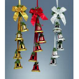 Hanging Bell Decoration Available in 3 Colours