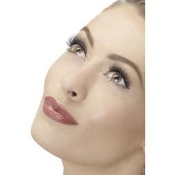 Fever Black Natural Lenghten Eyelashes & Adhesive