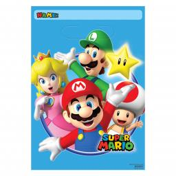 Super Mario Folded Loot Bags 8pcs