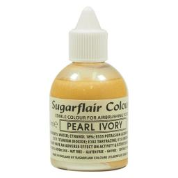 Sugarflair Airbrush Colour - Pearl Ivory Glitter 60ml
