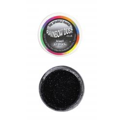 Sparkle Range - Jewel Jet Black Decorators Glitter 17g