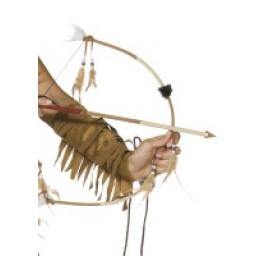 Bow and Arrow Set Feathered