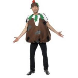 Christmas Pudding Costume with Hat