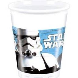 Star Wars Plastic Party Cups 8x200ml