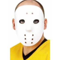 Hockey Mask white PVC