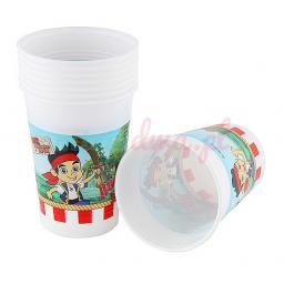 Jake Yo HO Cups - 180ml Plastic Party Cups 8pcs