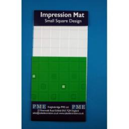 PME Impression Mat -Small Square Design