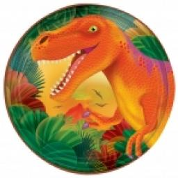 Prehistoric Paper Plates 8x7inch