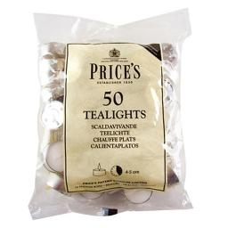 50 Tealights Candles