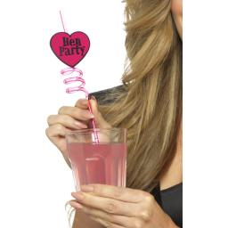 Hen Party Drinking Straws 6pcs
