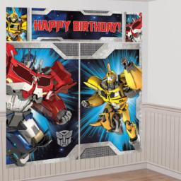 Transformers Scene Setters Kits 5pcs Over 6 FT