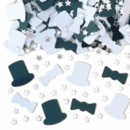 Top Hat Metallic Mix Confetti - 14g