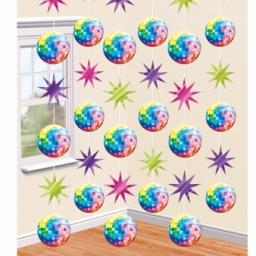70s Disco Strings Decorations 2.1m