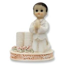 Praying Boy with Bible /Communion Cake Topper