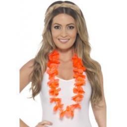 Hawaiian Lei Neon Orange