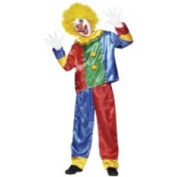 Clown Costume Top & Trousers Child