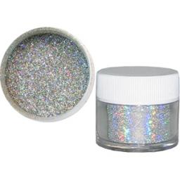 Sparkle Range Silver Hologram Decorators Glitter 17g