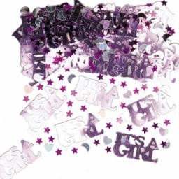Its a Girl Metallic Mix Confetti - 14g