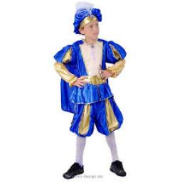 Prince Charming Child Costume Superluxe 7-9 y