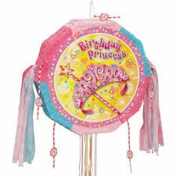 Birthday Princess Pop-Out Pinata