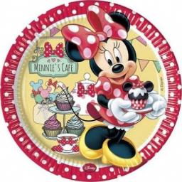 Minnie Mouse Paper Party Plates 8pcs 23cm